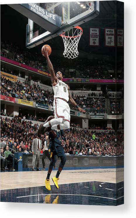 Nba Pro Basketball Canvas Print featuring the photograph Eric Bledsoe by Ron Hoskins