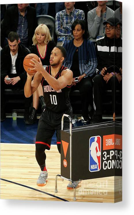 Event Canvas Print featuring the photograph Eric Gordon by Layne Murdoch