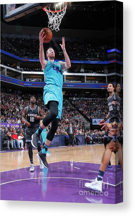 Nba Pro Basketball Canvas Print featuring the photograph Frank Kaminsky by Rocky Widner