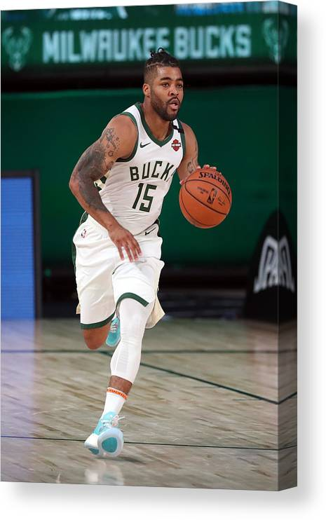 Nba Pro Basketball Canvas Print featuring the photograph Frank Mason by Joe Murphy