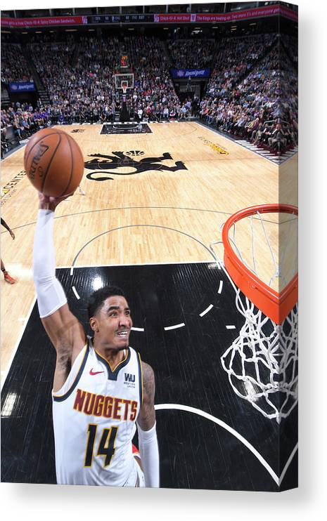 Nba Pro Basketball Canvas Print featuring the photograph Gary Harris by Rocky Widner