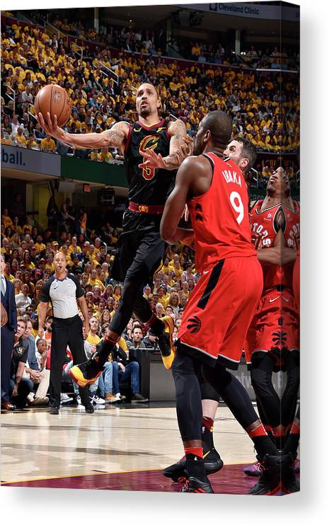 Playoffs Canvas Print featuring the photograph George Hill by David Liam Kyle