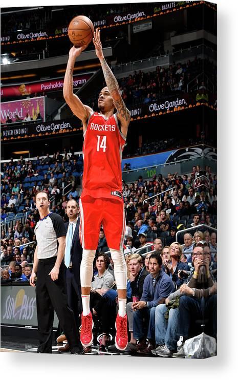 Nba Pro Basketball Canvas Print featuring the photograph Gerald Green by Fernando Medina