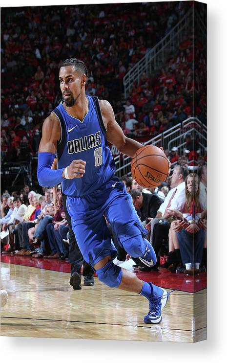 Nba Pro Basketball Canvas Print featuring the photograph Gian Clavell by Layne Murdoch