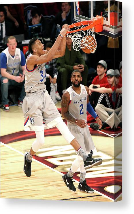 Event Canvas Print featuring the photograph Giannis Antetokounmpo by Layne Murdoch