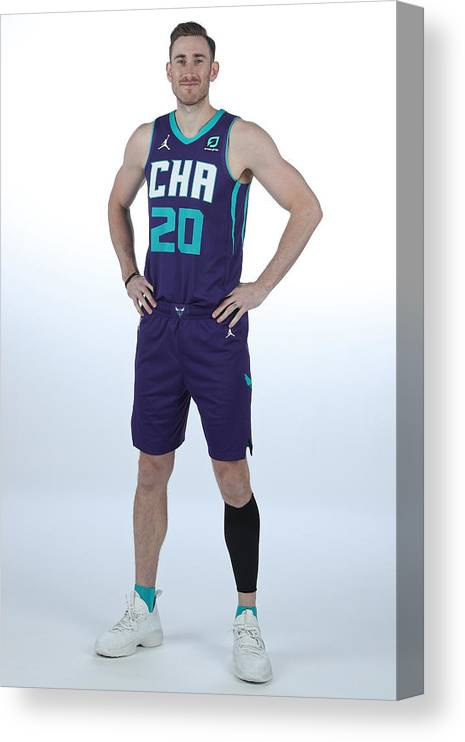 Media Day Canvas Print featuring the photograph Gordon Hayward by Kent Smith