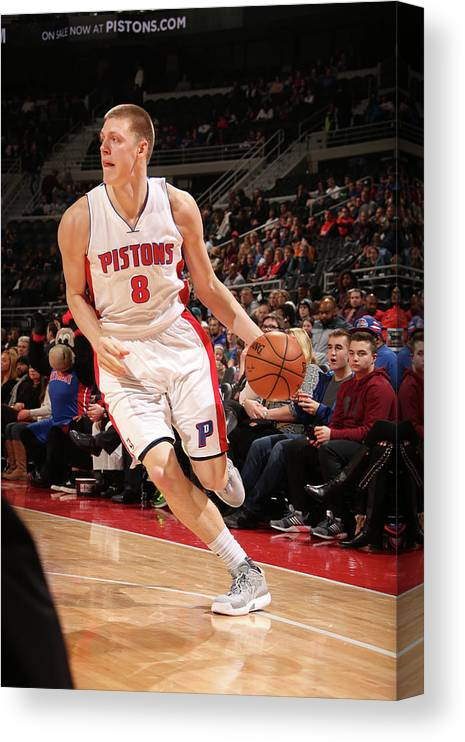 Nba Pro Basketball Canvas Print featuring the photograph Henry Ellenson by Brian Sevald