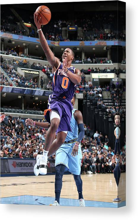 Isaiah Canaan Canvas Print featuring the photograph Isaiah Canaan by Ned Dishman