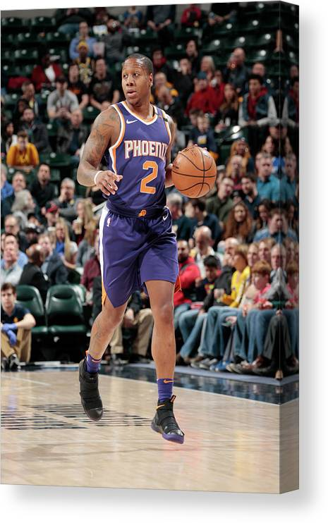 Isaiah Canaan Canvas Print featuring the photograph Isaiah Canaan by Ron Hoskins