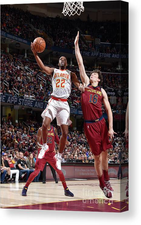 Nba Pro Basketball Canvas Print featuring the photograph Isaiah Taylor by David Liam Kyle