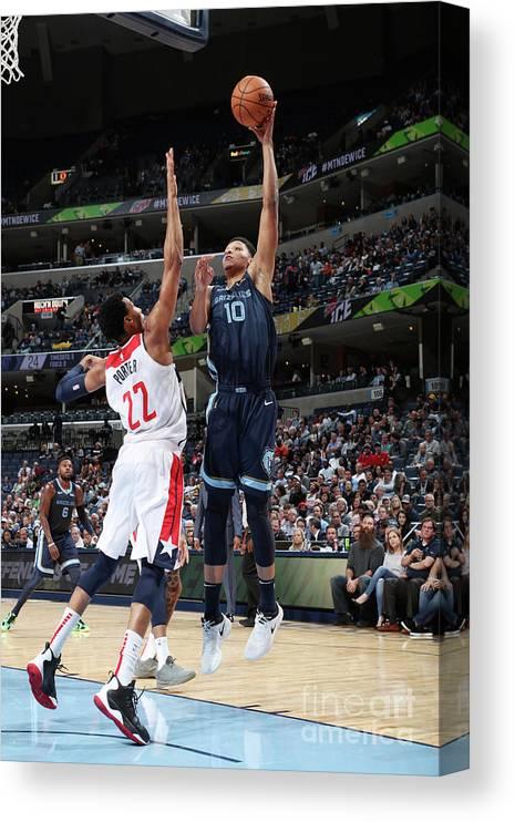 Nba Pro Basketball Canvas Print featuring the photograph Ivan Rabb by Joe Murphy