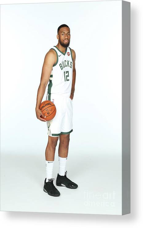 Media Day Canvas Print featuring the photograph Jabari Parker by Gary Dineen