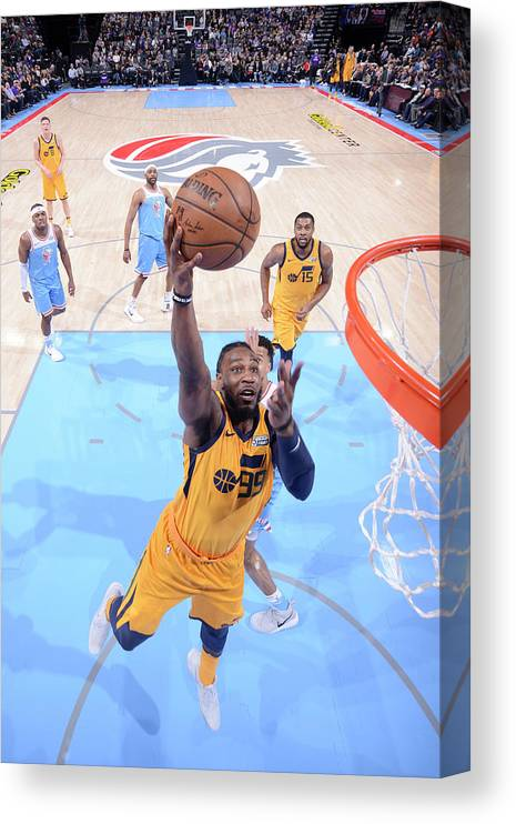 Nba Pro Basketball Canvas Print featuring the photograph Jae Crowder by Rocky Widner
