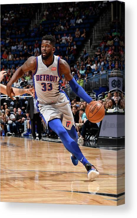 Nba Pro Basketball Canvas Print featuring the photograph James Ennis by Fernando Medina