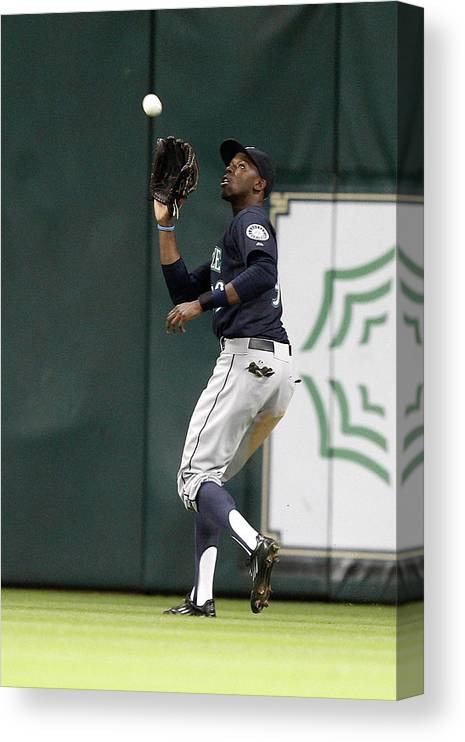 Ninth Inning Canvas Print featuring the photograph James Jones by Bob Levey