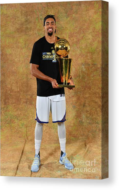 Playoffs Canvas Print featuring the photograph James Michael Mcadoo by Jesse D. Garrabrant