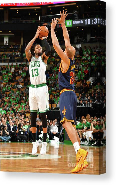Playoffs Canvas Print featuring the photograph James Young by Jesse D. Garrabrant