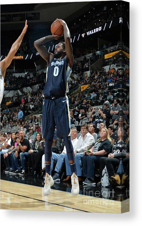 Nba Pro Basketball Canvas Print featuring the photograph Jamychal Green by Mark Sobhani
