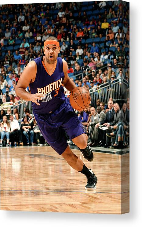 Nba Pro Basketball Canvas Print featuring the photograph Jared Dudley by Fernando Medina