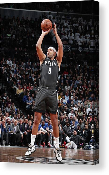 Playoffs Canvas Print featuring the photograph Jared Dudley by Nathaniel S. Butler