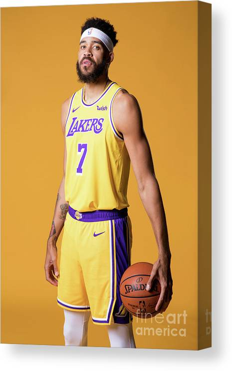 Media Day Canvas Print featuring the photograph Javale Mcgee by Atiba Jefferson