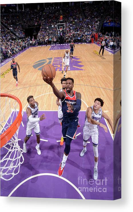 Nba Pro Basketball Canvas Print featuring the photograph Jeff Green by Rocky Widner