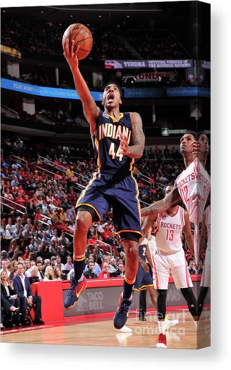 Nba Pro Basketball Canvas Print featuring the photograph Jeff Teague by Bill Baptist