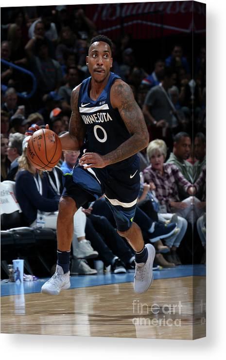Nba Pro Basketball Canvas Print featuring the photograph Jeff Teague by Layne Murdoch