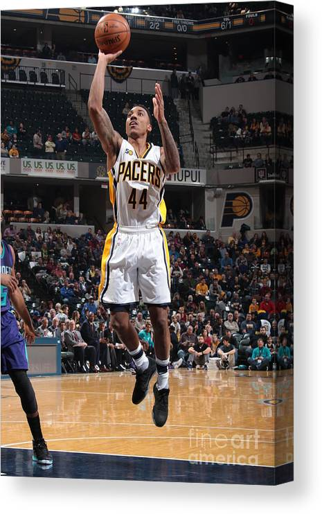 Nba Pro Basketball Canvas Print featuring the photograph Jeff Teague by Ron Hoskins