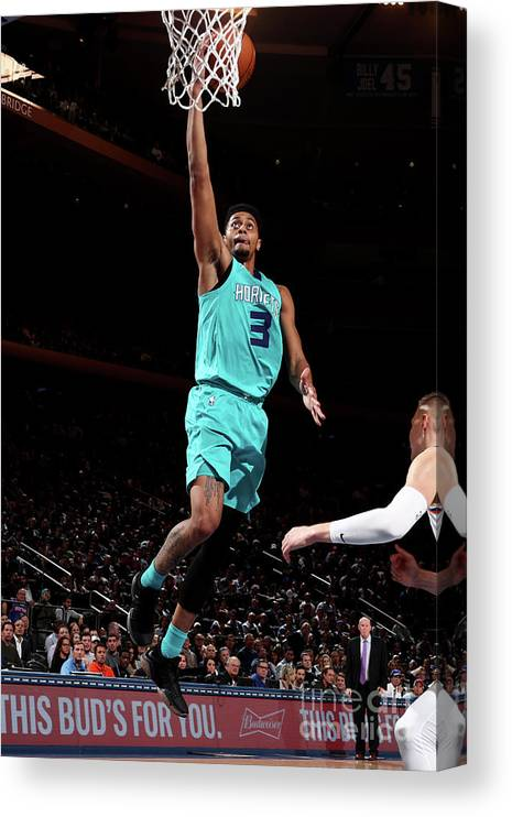 Nba Pro Basketball Canvas Print featuring the photograph Jeremy Lamb by Nathaniel S. Butler