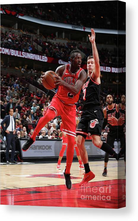 Nba Pro Basketball Canvas Print featuring the photograph Jerian Grant by Gary Dineen