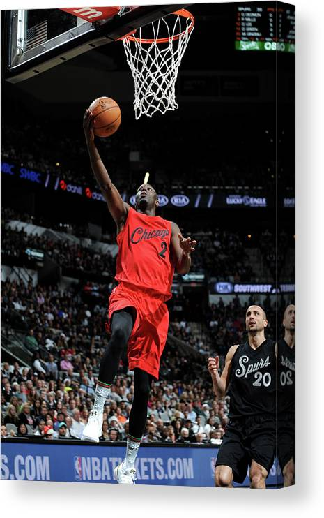 Nba Pro Basketball Canvas Print featuring the photograph Jerian Grant by Mark Sobhani
