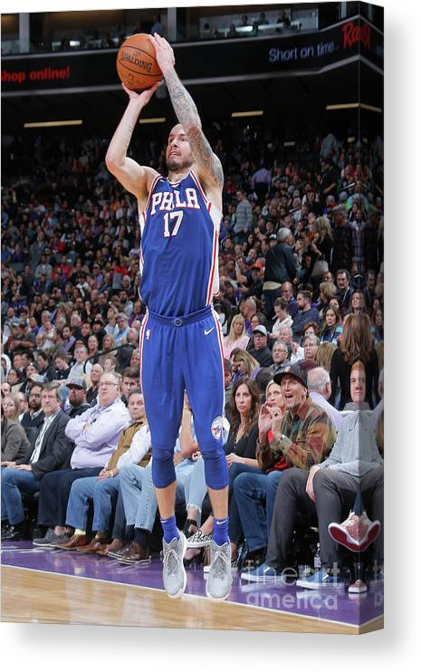 Nba Pro Basketball Canvas Print featuring the photograph J.j. Redick by Rocky Widner