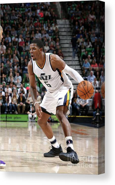Nba Pro Basketball Canvas Print featuring the photograph Joe Johnson by Melissa Majchrzak