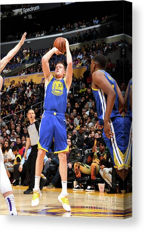 Nba Pro Basketball Canvas Print featuring the photograph Jonas Jerebko by Andrew D. Bernstein