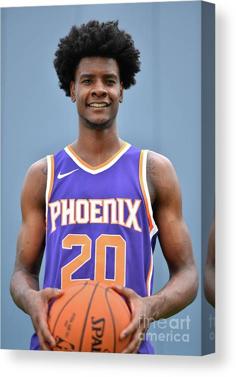 Nba Pro Basketball Canvas Print featuring the photograph Josh Jackson by Jesse D. Garrabrant