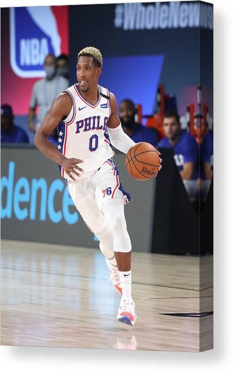 Nba Pro Basketball Canvas Print featuring the photograph Josh Richardson by Joe Murphy