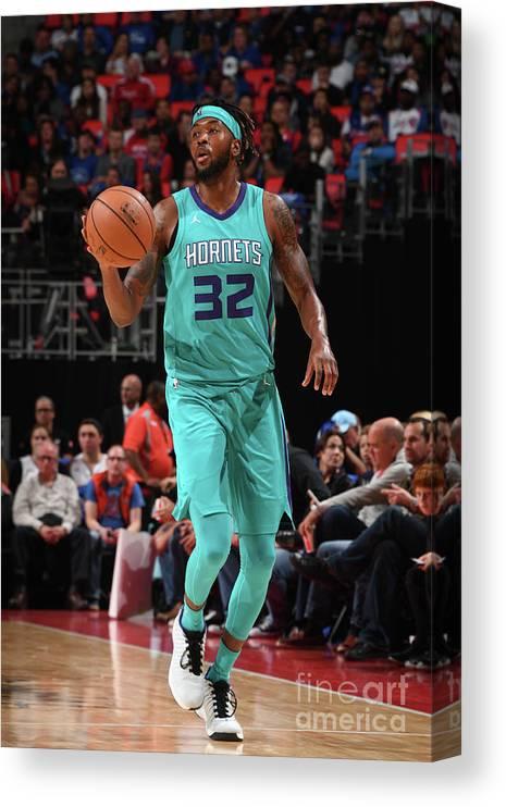 Nba Pro Basketball Canvas Print featuring the photograph Julyan Stone by Chris Schwegler
