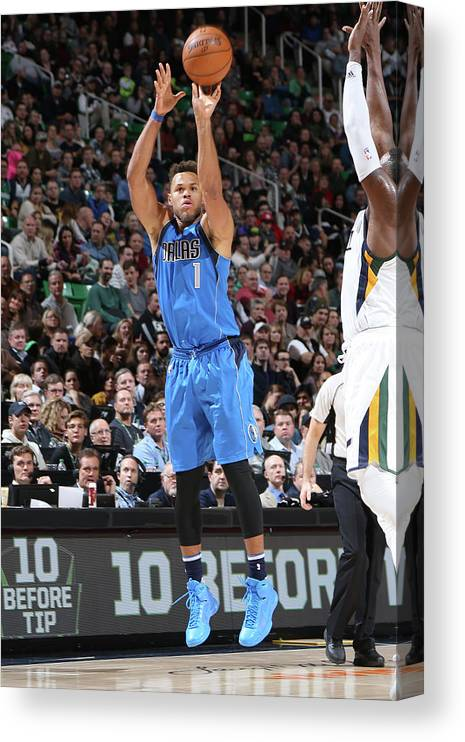 Nba Pro Basketball Canvas Print featuring the photograph Justin Anderson by Melissa Majchrzak