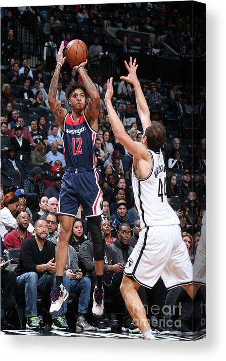 Nba Pro Basketball Canvas Print featuring the photograph Kelly Oubre by Nathaniel S. Butler