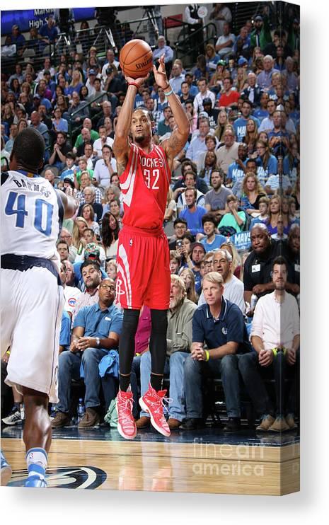 Nba Pro Basketball Canvas Print featuring the photograph K.j. Mcdaniels by Glenn James