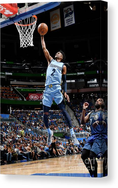 Nba Pro Basketball Canvas Print featuring the photograph Kobi Simmons by Fernando Medina