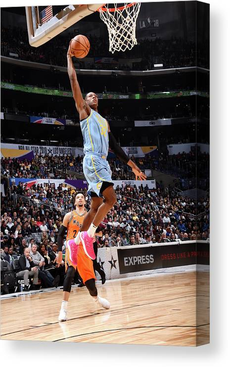 Event Canvas Print featuring the photograph Kris Dunn by Andrew D. Bernstein