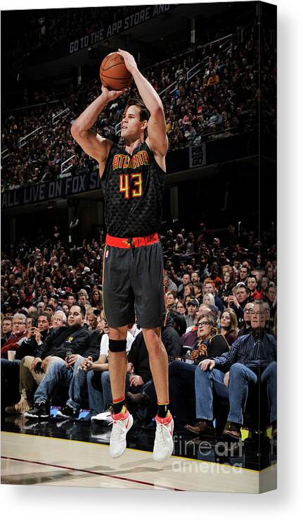 Nba Pro Basketball Canvas Print featuring the photograph Kris Humphries by David Liam Kyle