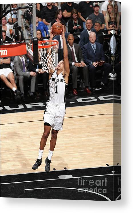 Playoffs Canvas Print featuring the photograph Kyle Anderson by Joe Murphy