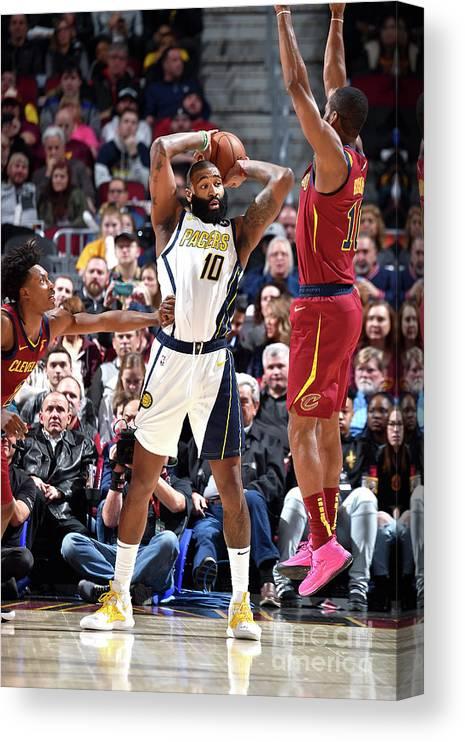 Nba Pro Basketball Canvas Print featuring the photograph Kyle O'quinn by David Liam Kyle