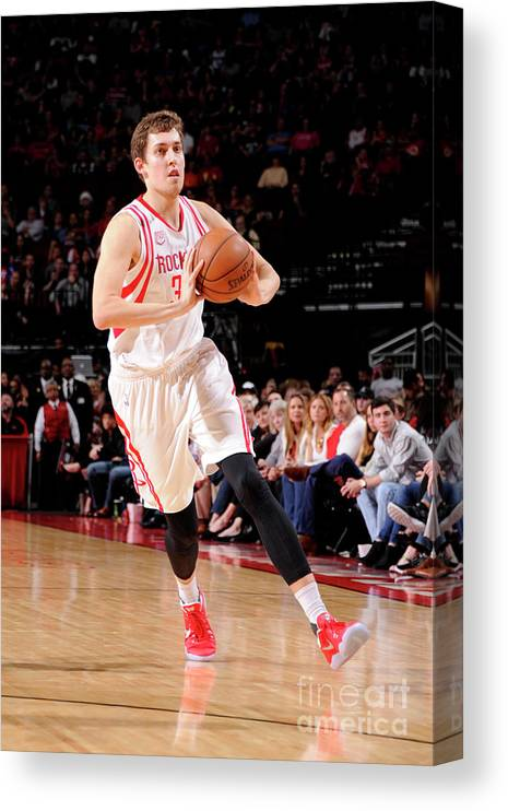 Nba Pro Basketball Canvas Print featuring the photograph Kyle Wiltjer by Bill Baptist