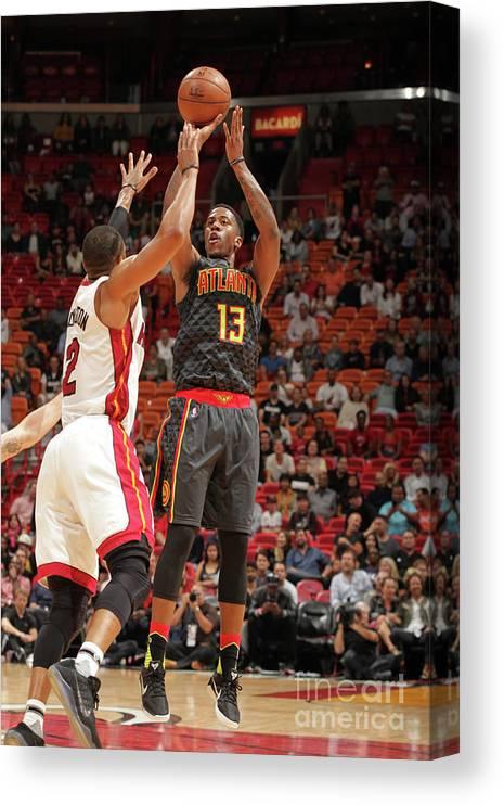 Nba Pro Basketball Canvas Print featuring the photograph Lamar Patterson by Oscar Baldizon