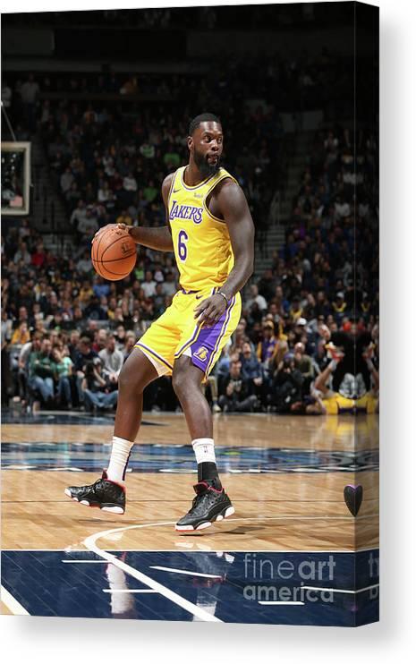 Nba Pro Basketball Canvas Print featuring the photograph Lance Stephenson by David Sherman
