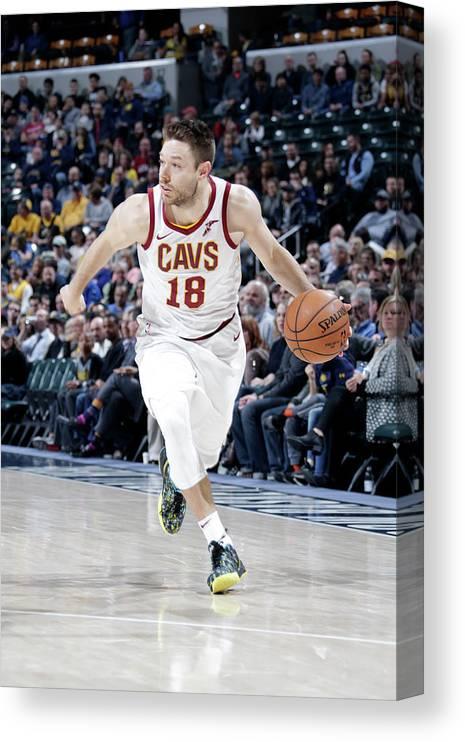 Nba Pro Basketball Canvas Print featuring the photograph Matthew Dellavedova by Ron Hoskins